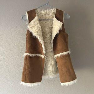 Hollister XS fur vest